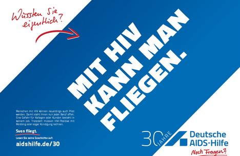 Die neue Aufklärungskampagne der Deutschen AIDS-Hilfe setzt bewusst auf Provokation