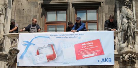 Stiftung Aktion Knochenmarkspende Bayern k�rt SWZ zur Lead-Agentur  Bild