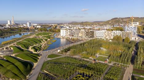 Heilbronn nutzt aktuell die Bundesgartenschau, um innovative Wege der Stadtentwicklung mit dem Charakter der Stadt und ihrer Umgebung zu vereinen; Foto: Heilbronn Marketing GmbH
