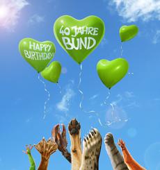 BUND feiert 40 Jahre Jubil�um mit  Kastner & Partners Bild