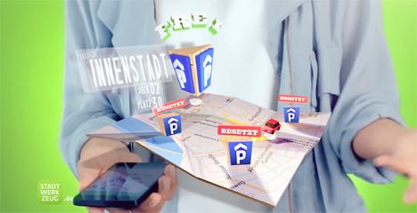 """Startschuss f�r die Kampagne """"Ganz D�sseldorf in einer App"""" Bild"""