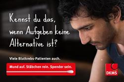 DKMS schickt potenzielle Spender auf Gef�hlsachterbahn Bild