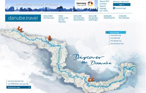 DZT startet Vermarktung der Donauregion im Ausland Bild