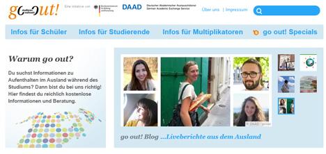 """DAAD rollt Kampagne  """"go out! Studieren weltweit"""" neu auf Bild"""