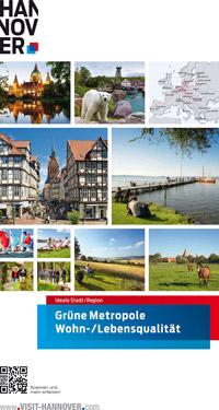 Hannover startet Marketingaktion in der Luft und auf den Schienen  Bild