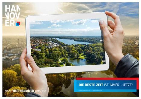 Hannover Marketing und Tourismus l�utet den Herbst mit neuer Kampagne ein  Bild