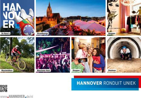 Hannover Marketing und Tourismus wirbt verstärkt in der Niederlande  Bild