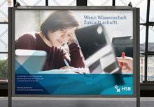 Hochschule Bremen pr�sentiert sich mit neuer Corporate Identity Bild