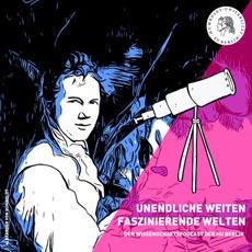 """Der neue Wissenschaftspodcast """"Unendliche Weiten, faszinierende Welten""""; Foto: HU Berlin"""
