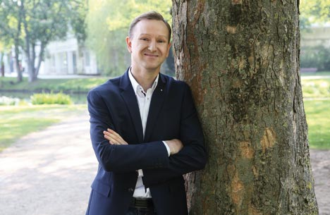 Michael Keller arbeitete bisher als Citymanager in Neumünster und wird nun Tourismuschef in Eutin / Schleswig-Holstein; Foto: Wirtschaftsagentur Neumünster GmbH