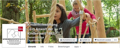 Kinderhilfestiftung vergibt Facebook-Etat an Ballcom Bild