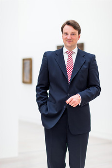 Kaufmännischer Direktor und Vorstand Stiftung Kunstsammlung NRW: Dr. Hagen W. Lippe-Weißenfeld; Foto: Kunstsammlung NRW