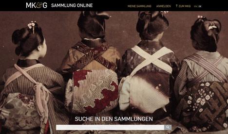 MKG startet Online-Sammlung f�r die freie Nutzung von Bilddaten Bild