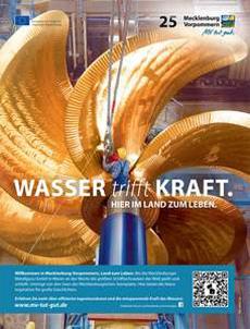 Neue frische Anzeigenmotive von Mecklenburg-Vorpommern Bild