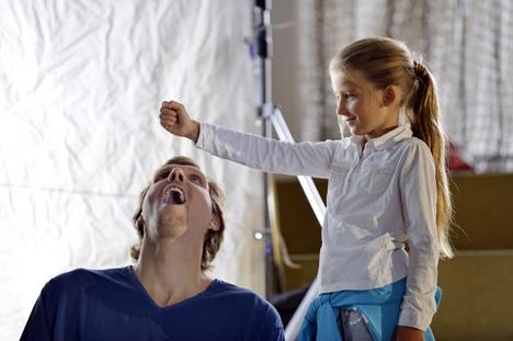 Dirk Nowitzki im neuen Spendenspot der UNICEF-Kampagne gegen Mangelern�hrung Bild