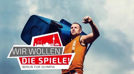 Neue Videoclips sollen Berlins Olympia-Bewerbung unterst�tzen Bild