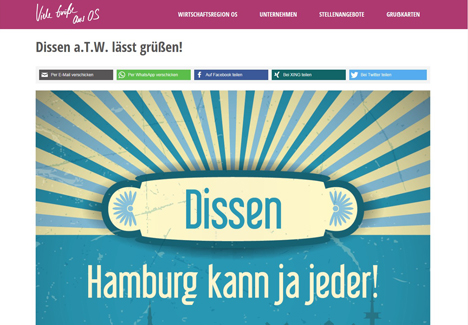 Region Osnabr�ck schaltet Imagekampagne Bild