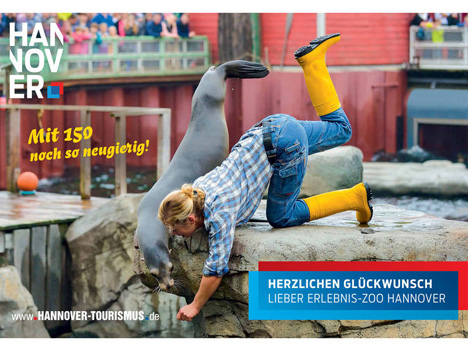 Erlebnis-Zoo Hannover z�ndet zweite Feier-Stufe Bild
