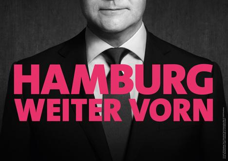 """""""Hamburg weiter vorn"""": SPD setzt Kampagne mit Butter um Bild"""