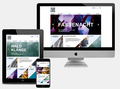 Landeshauptstadt Saarbr�cken zeigt sich mit neuem Corporate Design Bild