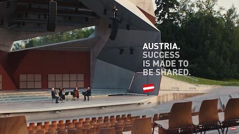 Mit dem neuen Spot soll der österreichische Wirtschaftsstandort präsentiert werden; Foto: ÖW