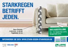 """Lippeverband und Agentur bgp sind """"Stark gegen Starkregen""""  Bild"""