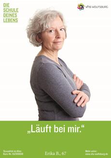 VHS Wolfsburg mit neuer Markenpositionierung und frischer Kampagne Bild