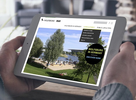 Ab sofort bietet die WMG ortsansässigen Unternehmen die Möglichkeit, living-in-wolfsburg.com für ihre Fachkräfteakquise zu nutzen; Foto: Wolfsburg Wirtschaft und Marketing GmbH