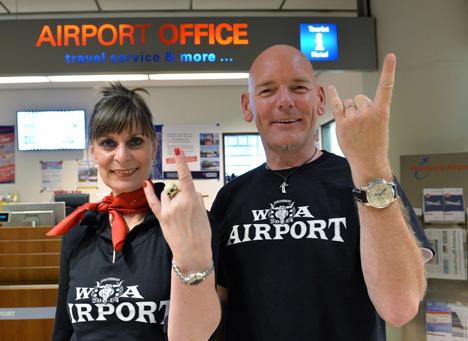 """Hamburger Flughafen wird zum """"Wacken Airport"""" Bild"""