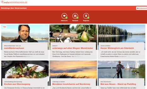 TourismusMarketing Niedersachsen pr�sentiert interaktives Reiseportal  Bild