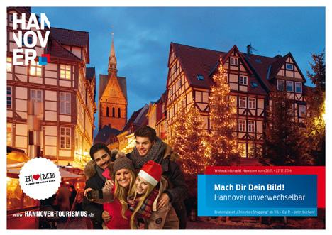 Hannover Marketing und Tourismus startet Winterkampagne Bild