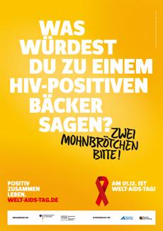 Neue Kampagne zum Welt-AIDS-Tag 2014 on air Bild