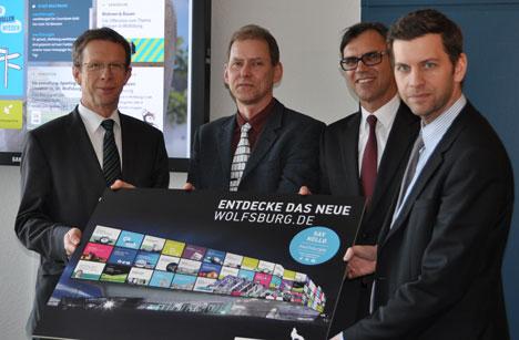 Wolfsburg pr�sentiert sich mit frischer Website  Bild