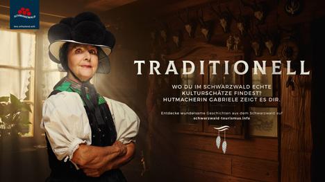"""Eine Reise in den Schwarzwald ist eine Reise in eine märchenhafte Region. Das sollen unter anderem Protagonisten der Kampagne """"Wundersamer Schwarzwald"""" unter Beweis stellen; Foto: STG/ressourcenmangel"""