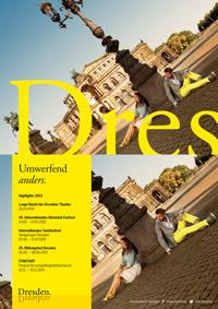 """Dresden vermarktet sich """"umwerfend anders"""" - auch international  Bild"""