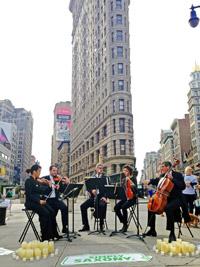 """""""So geht s�chsisch."""" setzt musikalische Marketingaktion in New York fort  Bild"""