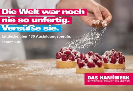 Bundesweiter Kampagne wirbt f�r die Vielfalt des Handwerks  Bild