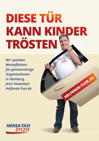 Hansa-Taxi spendet 600 Werbeflächen an Hilfsorganisationen Bild