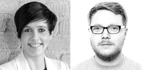 Katharina Balkmann und Jörg Retterath sind neu bei ressourcenmangel Düsseldorf; Fotos: ressourcenmangel