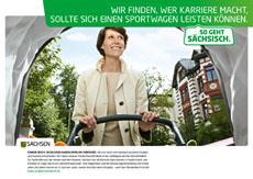 """TV, Kino und Au�enwerbung: """"So geht s�chsisch.""""  z�ndet zweite Stufe der Kampagne Bild"""