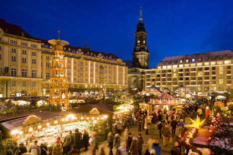 """Dresden, Bochholt und Abensberg sind """"Best Christmas City""""  Bild"""